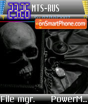 Morbid v1 es el tema de pantalla