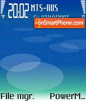 Nokia N Series theme screenshot