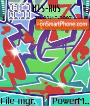 Graffiti 01 es el tema de pantalla