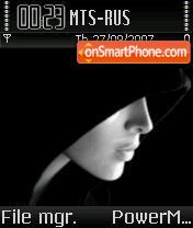 X-face theme screenshot