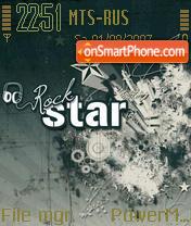 Rock Star Theme-Screenshot