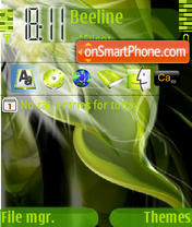 Green Vista theme screenshot
