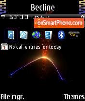 Fire Strip tema screenshot