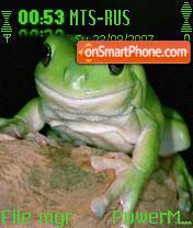 Reptile Frog es el tema de pantalla