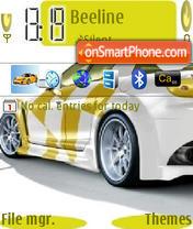 Car New theme screenshot