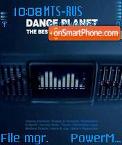 Dance Planet 01 tema screenshot