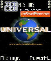Animated Universal tema screenshot