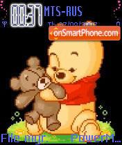 Winnie The Pooh Animated theme screenshot