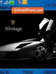 Heritage theme screenshot