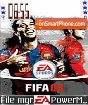 Fifa 08 es el tema de pantalla
