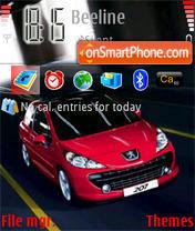 Peugeot 207 01 es el tema de pantalla