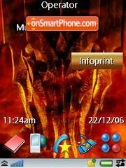Sauron theme screenshot