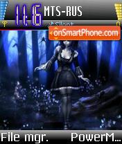 The Performer theme screenshot