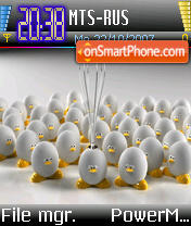 Unix theme screenshot