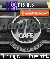 Hard Rock Cafe es el tema de pantalla