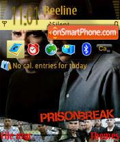 Скриншот темы Prison Break 2