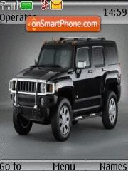 Hummer In Black theme screenshot