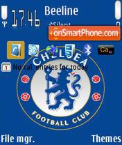 Chelsea FC Default theme screenshot