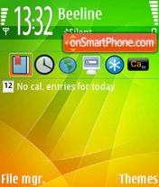 Скриншот темы BG