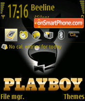 Playboy 04 theme screenshot