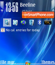 Vista Blue 02 theme screenshot