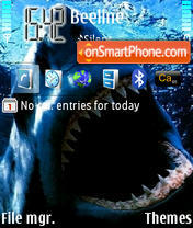 Shark 02 theme screenshot