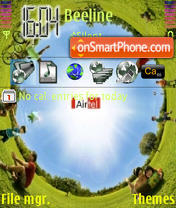 Nature Air tema screenshot