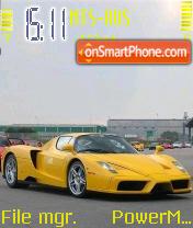 Ferrari Enzo 02 theme screenshot