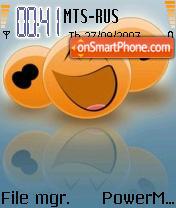 Smiley 06 es el tema de pantalla