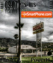 Motel es el tema de pantalla
