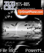 Скриншот темы Moonlight Animated