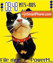 The Cat Neformal theme screenshot