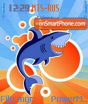 Shark 03 theme screenshot