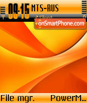 Orangeade theme screenshot