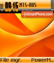 Orangeade es el tema de pantalla