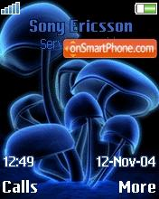 Mushrooms theme screenshot