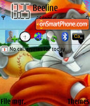 Cartoons theme screenshot