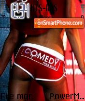 Comedy Club Symbian 81 es el tema de pantalla