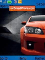 Скриншот темы Holden Ve Commodore