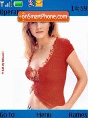 Kirsten Dunst 02 theme screenshot