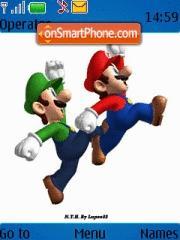 Mario Luigi theme screenshot
