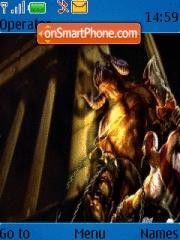 God of War 03 es el tema de pantalla