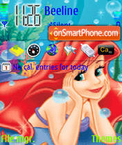 Ariel theme screenshot