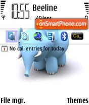 Elephant 01 theme screenshot