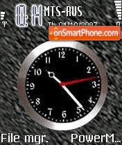 Black Clock es el tema de pantalla