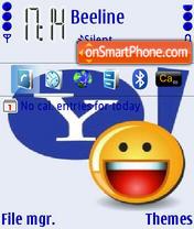 Yahoo Messenger es el tema de pantalla