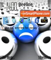 Unhappy theme screenshot