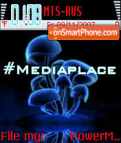 Mediaplace theme screenshot