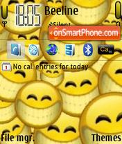 Smiles theme screenshot