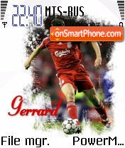 Gerrard theme screenshot